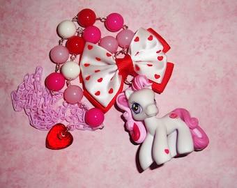 Valentine Pony Necklace - WISH-I-MIGHT