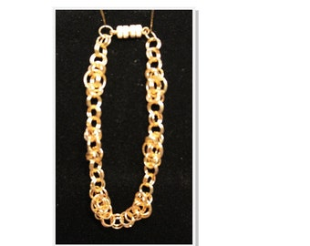 Gold Chain Maile Bracelet  by Terriann's Originals