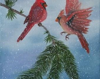 Sweet Pair of Cardinals