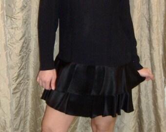 Cute and Sassy  Vintage 80s Dressy Dress by Lady Carol..size 10