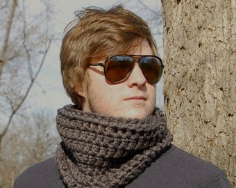 The Back Country Cowl, Crochet Cowl Pattern PDF Download, Easy Cowl Crochet Pattern in PDF for The Simple Quick Cowl
