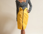 PRICE REDUCED - Button-Up High Waisted Pencil Skirt