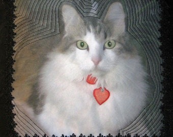 A Pet Portrait Pillow makes a Beloved Gift