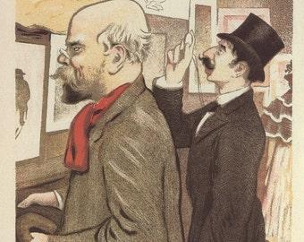 French Poster Art, Paris Seventh Exhibition Of Salon Des Cent, And Nottingham Magazine