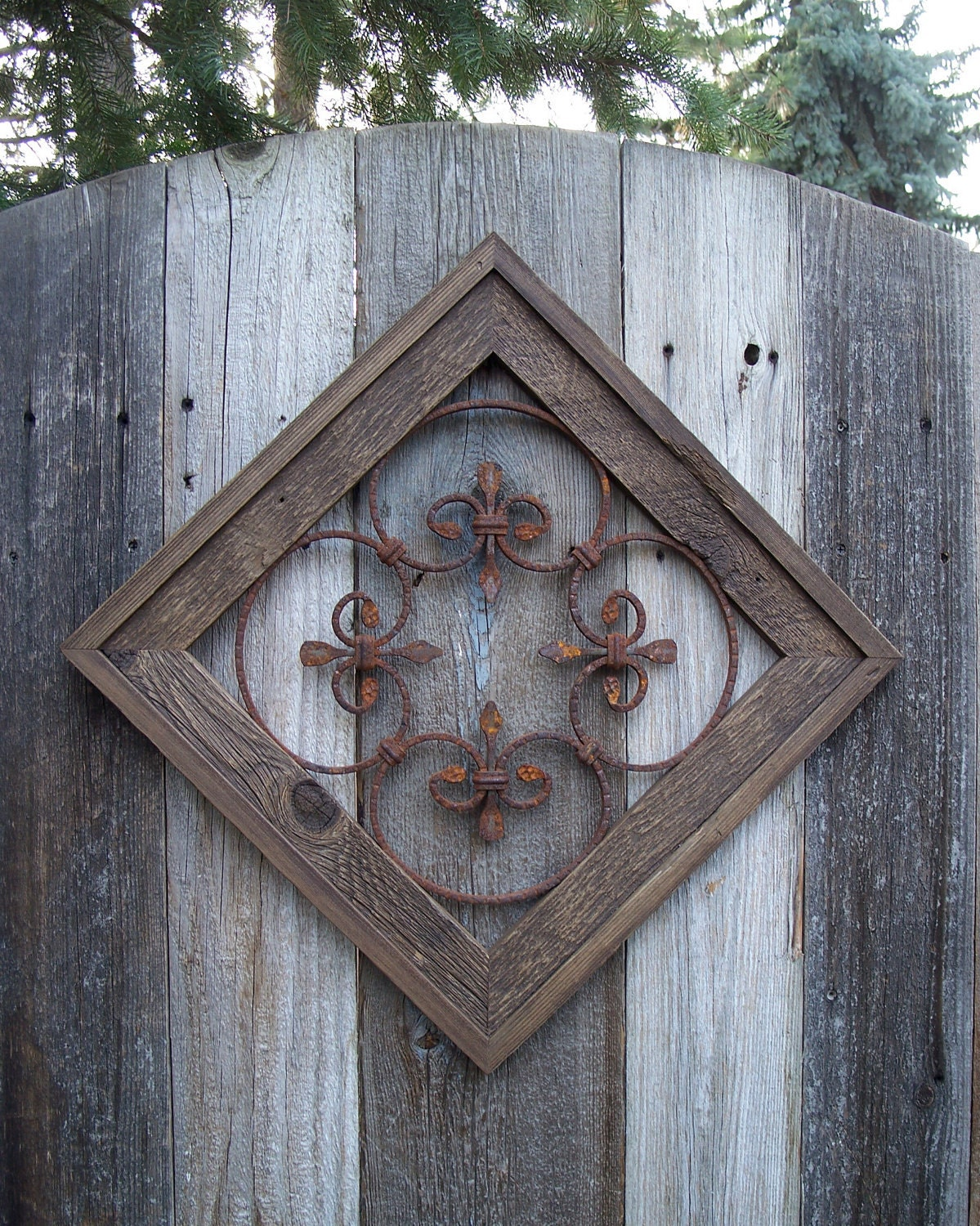 rustic wall decor country chic wall decor rustic framed steel wall decor for 29895
