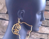 Large Size Africa Earrings