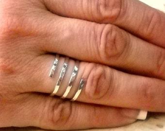 Silver Ring - Sterling Silver Spiral Ring