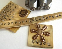 Metal Stamping Set - 2mm UPPERCASE Verona Font Alphabet Letter Punch Set - Alphabet Letter Stamp Set - Metal Stamps for Hand Stamped Jewelry