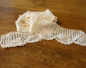 Beautiful Hand Crocheted Lace in Pineapple pattern