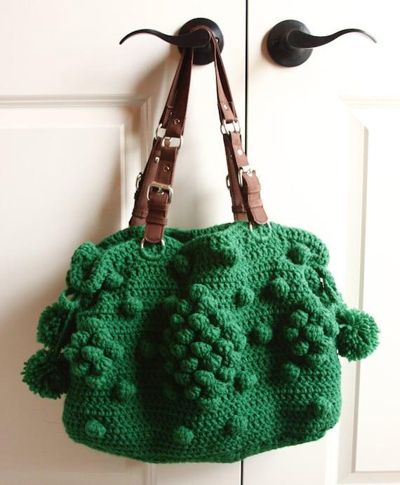 Crochet Bobble Purse PDF Pattern