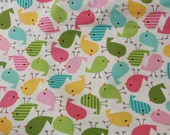 RESERVED FOR JENNIFER- Spring Birds Fabric by Ann Kelle - 3 yards