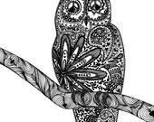 Owl Love You Forever, Art Print