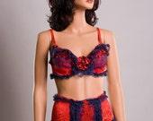 Red & Blue Medium patriotic lingerie by Scarlet Fairy
