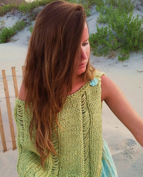 Knit Beach Cover Up Pattern : KNITTING PATTERN,knit shawl,womens knit poncho,women,teens,beach cover up,swi...