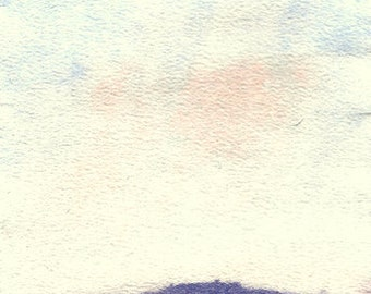 Art Print, Painting, Early Autumn by the Sea