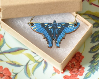Marina Butterfly Pendant Necklace