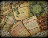 Delicate Poisons - Antiquated Sticker Set