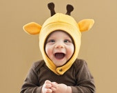 Giraffe Baby/Toddler Fleece Hat