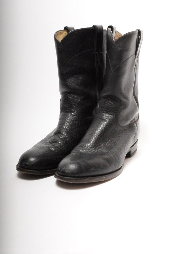 justin roper boots size 10 s by metropolisnycvintage