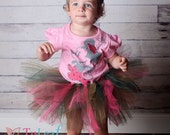 Camouflage and Hot Pink Tutu