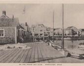 By the Wharf Rat Club, Nantucket post card. Gardiner, black & white.