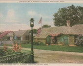 Sconset, Where Happiness Dwells, Nantucket Post Card,  H. Marshall Gardiner.