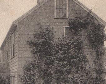 The Poppy Garden, Union Street, Nantucket post card. Gardiner, black & white.