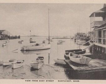 View From Easy Street, Nantucket. Gardiner black & white.