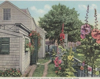 A Little Bit of Heaven, Nantucket post card. Gardiner, PHOSTINT