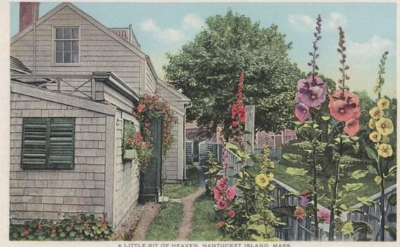 A Little Bit of Heaven, Nantucket post card. Gardiner, PHOSTINT