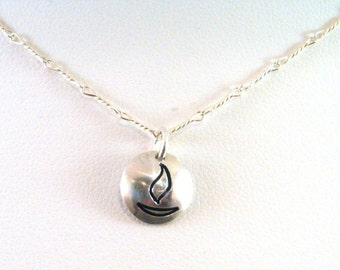 UU Chalice Necklace - Petite Sterling Silver