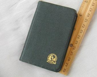 1939 Silver Burdett Calendar Diary Date Book - Vintage Calendar