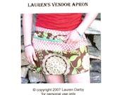 PDF Pattern Vendor Apron Sewing Tutorial