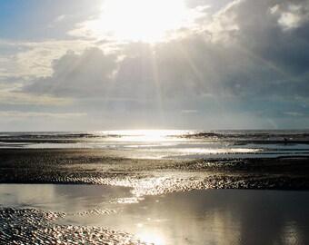 Island Beach Ocean Sunrise Fine Art Print