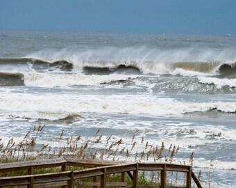 Ocean Storm Waves Fine Art Print