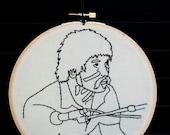Honus Honus Man Man Embroidered Wall Art Currently on sale 40% off!