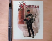 Classic American Postman postcard set, pack of 5
