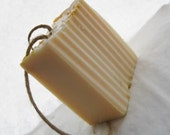 Lemongrass Hemp Soap on a Rope - Eczema and Psoriasis Healing Soap - Moisturizing - Hemp Oil - Coconut Oil - Valentines Day Gifts