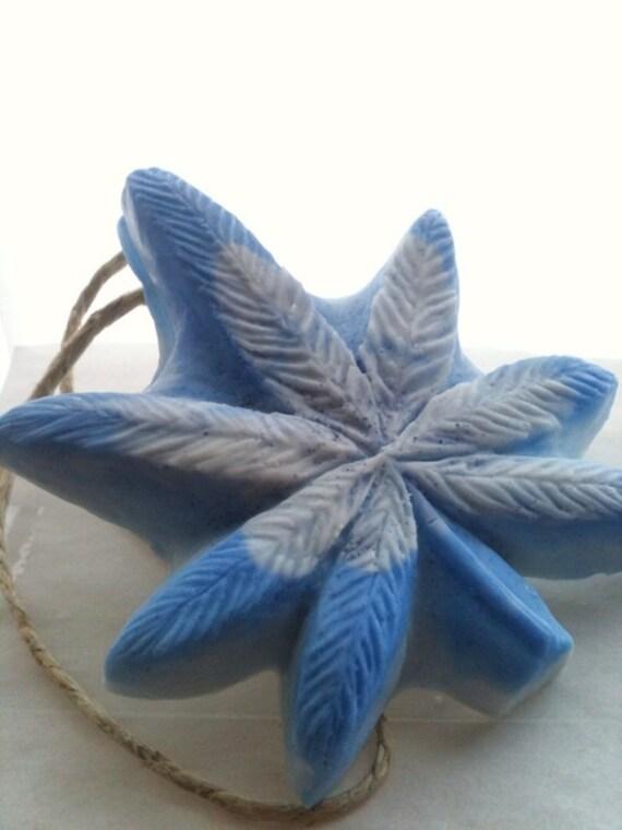 Dope on a Rope Soap - Blueberry Hemp Soap on a Rope - Blueberry Kush - Weed - 420 - Hippy Marijuana Cannabis Bath Gifts - Stocking Stuffers