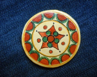 Romanian traditional motives,magnets, 01