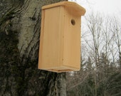 Nuthatch BirdHouse, Chickadee Bird Houses