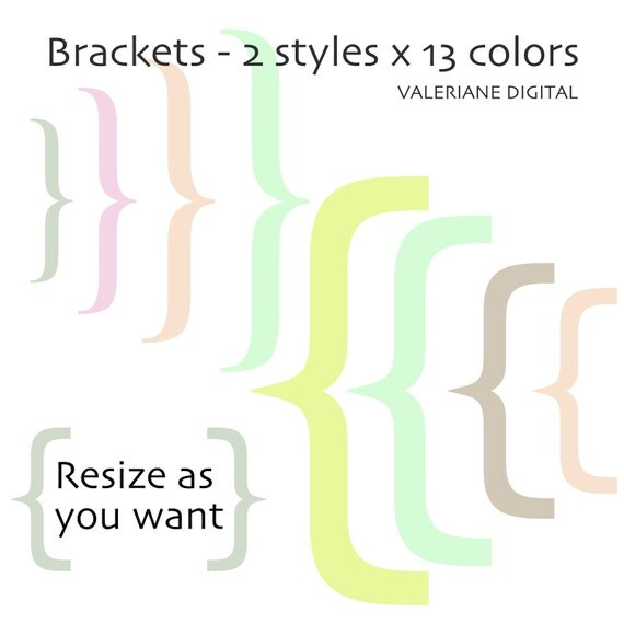 brackets paranthesis