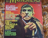 Frankenstein Famous Monsters of Filmland No 59 Barnabas Collins Vampire 1969 Basil Gogos Cover Art