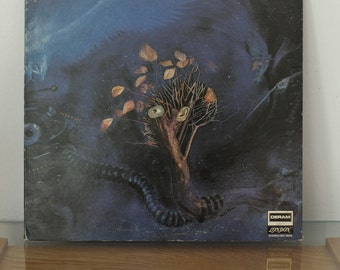 Moody Blues 1969 original Deram Record LP On The Threshold Of A Dream with RARE Booklet