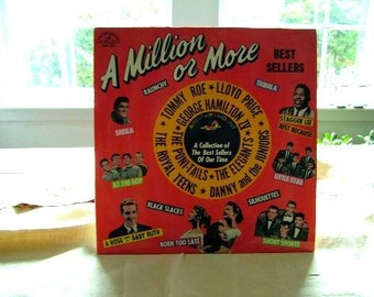 Compilation 1959 LP A Million Or More Album Record Danny The Juniors Royal Teens Muvya Guitar Hubbard Steve Gibson Sparkletones LLoyd Price