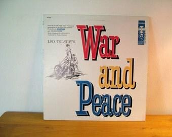 Nino Rota War And Peace Vintage Vinyl Record Album 1976 Soundtrack LP