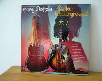 John De Vries Design Art The Guitar Underground Album Tony Mottola Vinyl Record LP Groovy Swingin
