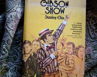 The Dick Gibson Show All Night Talk Radio DJ Stanley Elkin 1972 Paperback Pocket Book Media Broadcast