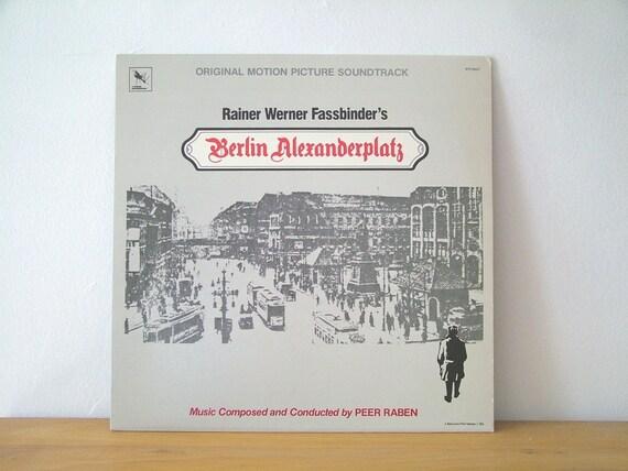 Berlin Alexanderplatz Soundtrack Werner Fassbinder 1984 Vintage LP Record Album Varese Sarabande Peer Raben Rainer