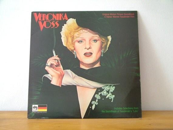 Veronika Voss Soundtrack Lola LP Record Album 1982 Vintage Vinyl DRG Records Peer Raben Rainer Werner Fassbinder